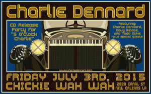 Charlie Dennard CD Release Party